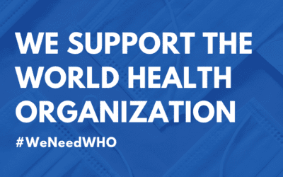 To end world hunger, #WeNeedWHO. Why we support the World Health Organization.